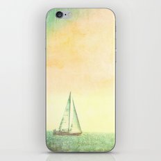 A day at Sea iPhone & iPod Skin