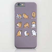 Pomeranian yoga iPhone 6 Slim Case