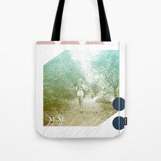 M.M. Collage Tote Bag