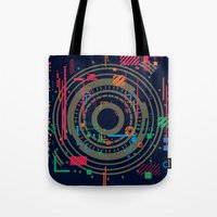 chaos vs order - the labyrinth within v2 Tote Bag