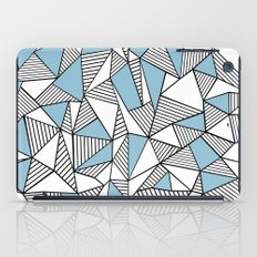 Abstraction Lines Sky Blue iPad Case