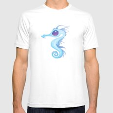 Sea Dragon SMALL White Mens Fitted Tee