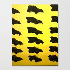 Wolf Skulls Canvas Print