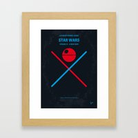 No154 My STAR Episode IV… Framed Art Print