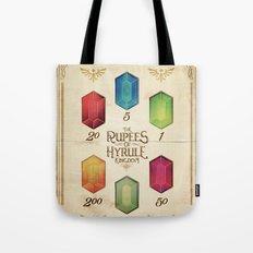 Legend of Zelda - The Rupees of Hyrule Kingdom Guide Tote Bag