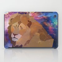 The Lion Is High iPad Case