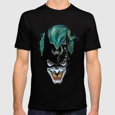 Joker - Darkest Knight  Black Mens Fitted Tee SMALL