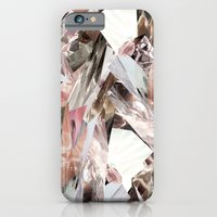 abstract iPhone & iPod Cases featuring Arnsdorf SS11 Crystal Pattern by RoAndCo