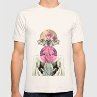 La Tigre Mens Fitted Tee Natural SMALL