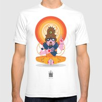 The Inscrutable Lord Ov … Mens Fitted Tee White SMALL