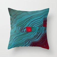 helix_eye Throw Pillow