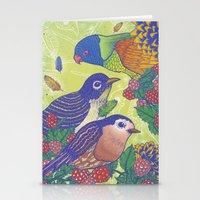 Birds2 Stationery Cards