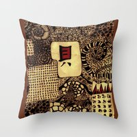 life 2 Throw Pillow