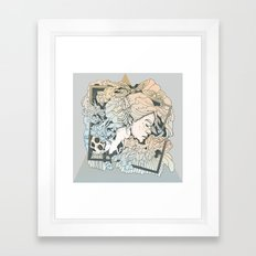 BROKEN FRAMES Framed Art Print