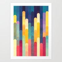 Sleepless Art Print