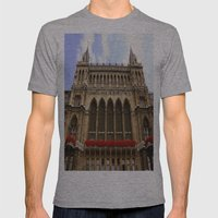 Building in Vienna Mens Fitted Tee Athletic Grey SMALL