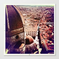 Canvas Print featuring Florence by SABOTAGE