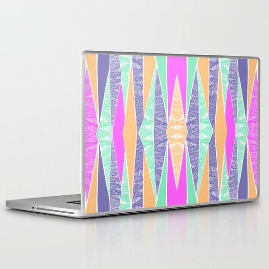 Pastel Tribal Laptop & iPad Skin