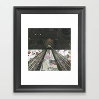 Everything I Need Is Whe… Framed Art Print