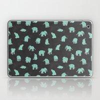 Indian Baby Elephants Bl… Laptop & iPad Skin