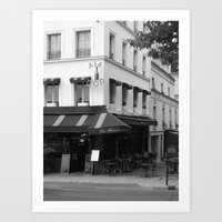 ala paris Art Print