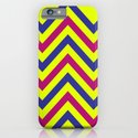 Chevron Neon Blast iPhone & iPod Case