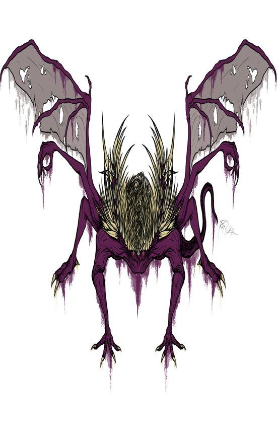 Gaping Dragon (Dark Souls) Art Print
