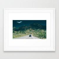 Synchro Bus Colorado Framed Art Print