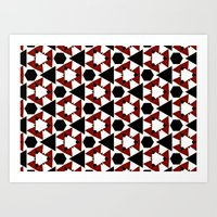 Van Steensel Pattern Art Print