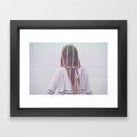Wander (Keep Calm) Framed Art Print