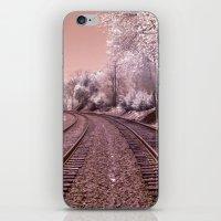Train Track In Culpeper iPhone & iPod Skin