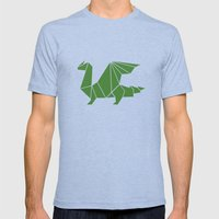 Draconis Mens Fitted Tee Tri-Blue SMALL
