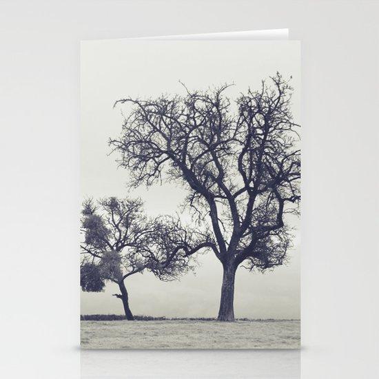 bleak trees... Stationery Card