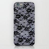 iPhone & iPod Case featuring Black Lace by Elena Indolfi