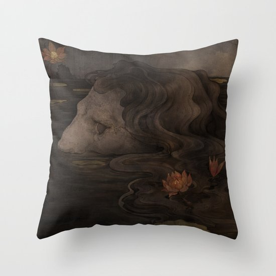 Waterborn Throw Pillow