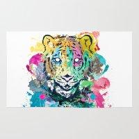 Tiger Splash Rug
