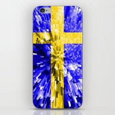 Sweden Flag - Extrude iPhone & iPod Skin