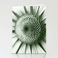 Black And White Flower C… Stationery Cards