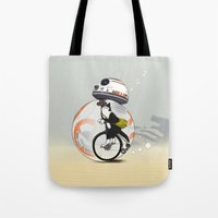 CAT INSIDE DROID Tote Bag
