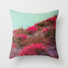 the hill Throw Pillow