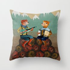 The Foresters Throw Pillow