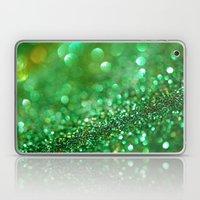 Pretty In Green - An Abs… Laptop & iPad Skin