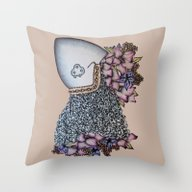 The Fallen Knight Throw Pillow