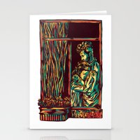 A window of Love Stationery Cards