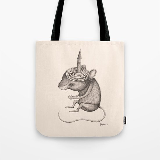 'Lost In My Mind' Tote Bag