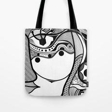 Warmi face Tote Bag