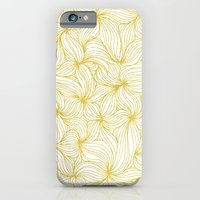 iPhone & iPod Case featuring Golden Doodle floral by Katy Clemmans