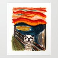 Sloth's Scream  Art Print