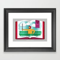 A General's Pride (by Tr… Framed Art Print