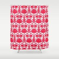 Blossomy Shower Curtain
